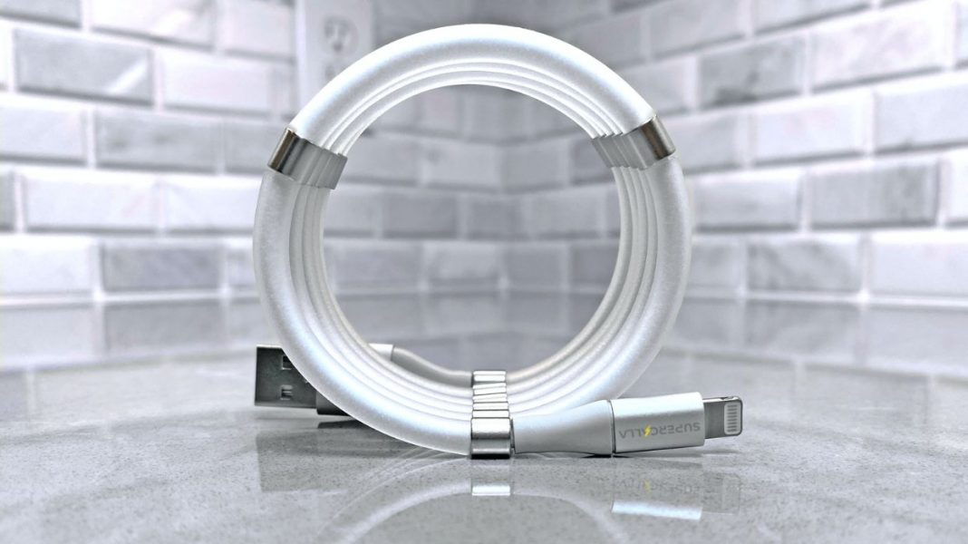 This Magnetic USB Cable Which Supports Faster Charging and Never Gets Tangled In Your Drawers (2)