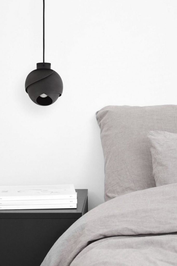 Atmospheric Illumination inspired 3d Printed Fold Lamp That Rotates 360 Degrees