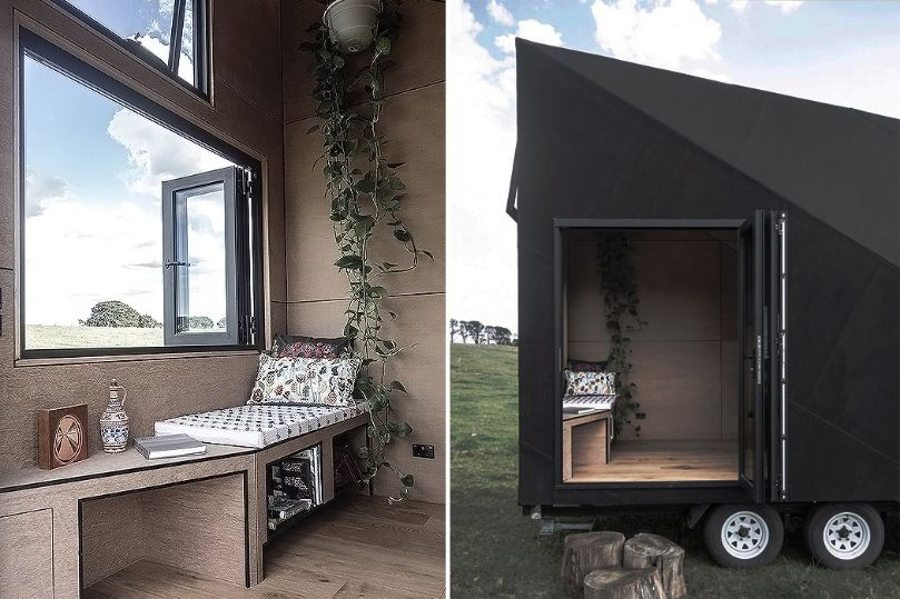Base Cabin - The Portable A Shaped Scandinavian Cabin