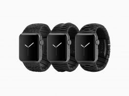 These 3d Printed Apple Watch Bands Feels Sculptural Yet Elegant In Hand