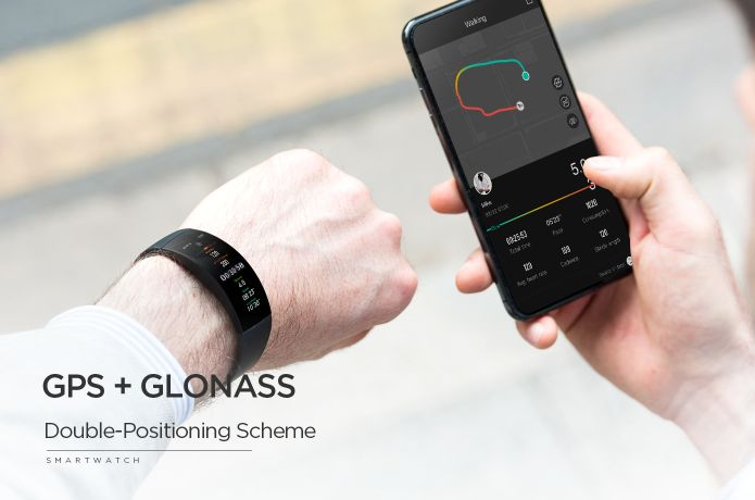 This Curved Screen Smartwatch Is What you Call A Spectacular Gadget